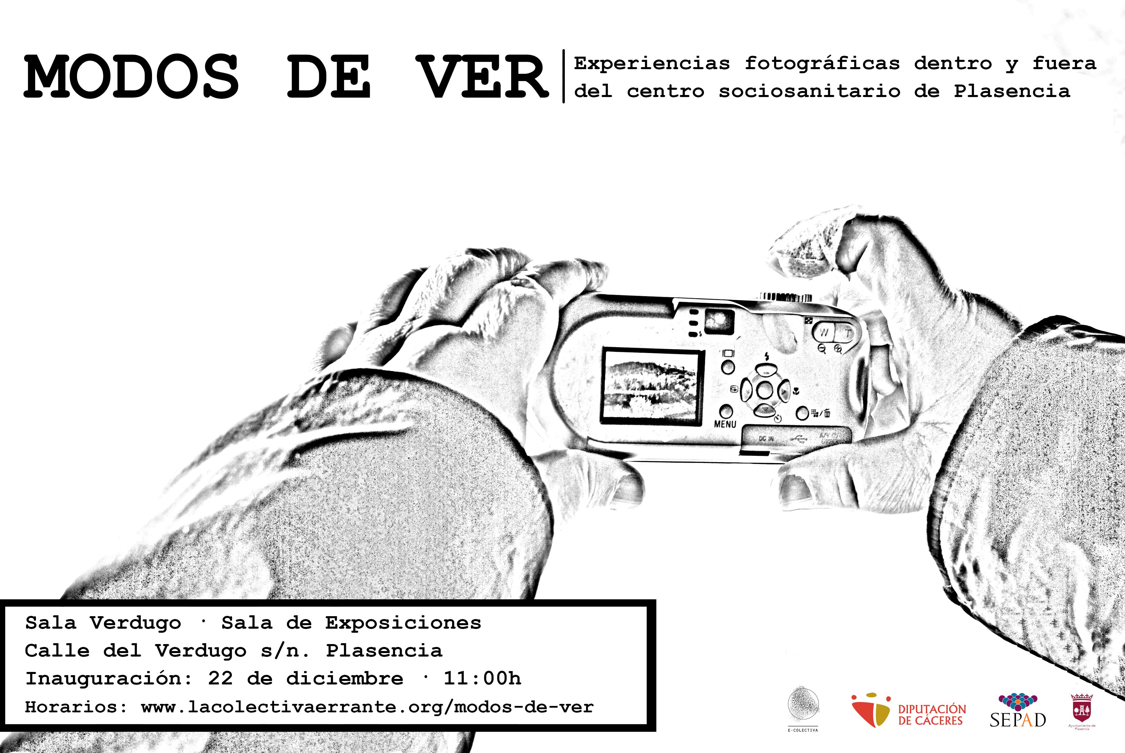 "Horario de apertura exposición ""Modos de ver"""
